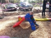 Tobias on a slide
